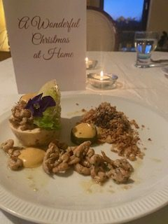 House of Lords Kerstmenu